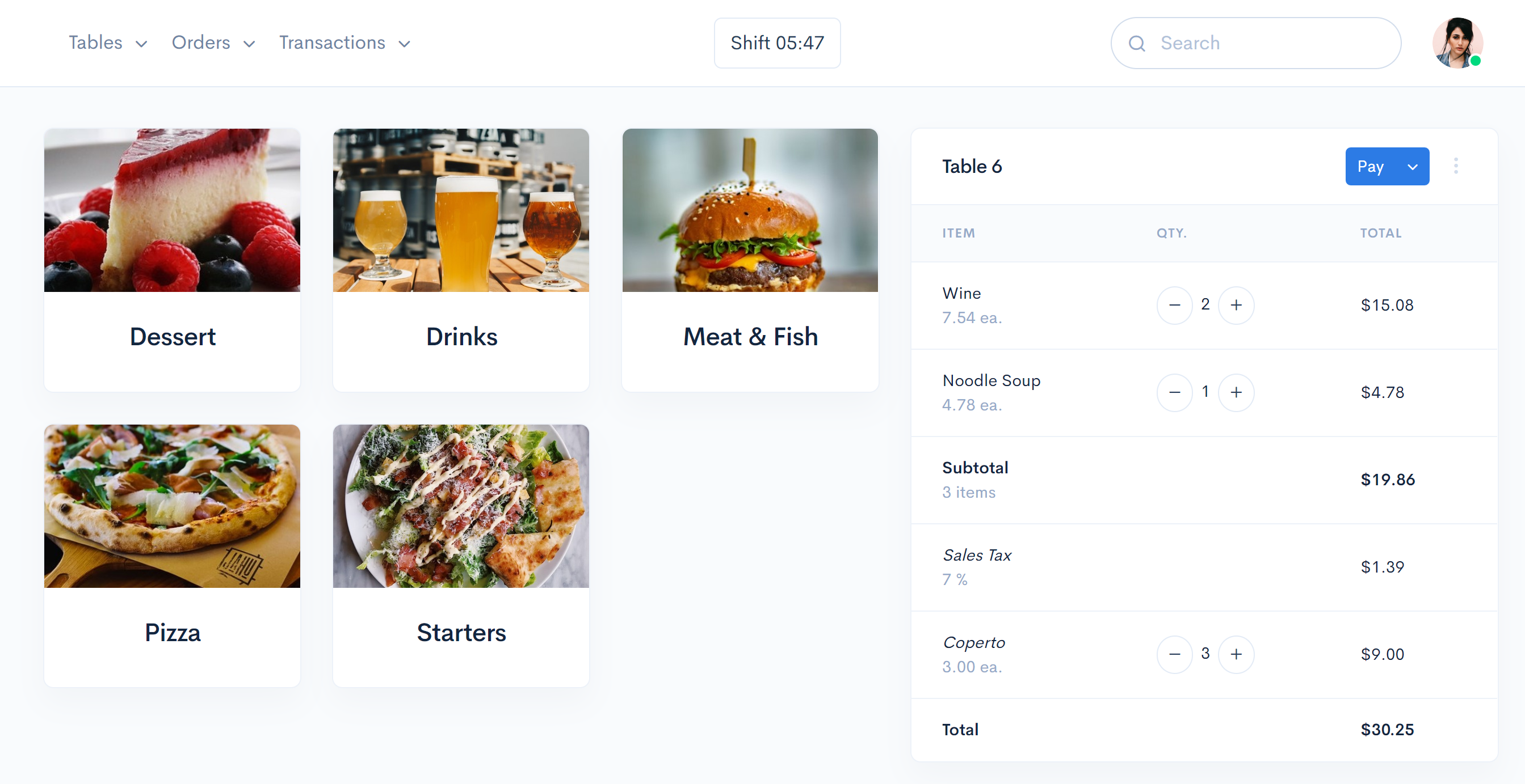 Restaurant Payments Processing by Atavoli Restaurant Point of Sale for Restaurants, Bars, Cafes, Bistros., Point of Sale for Restaurants, Pizza Restaurants, Bars, Cafes, Bistros, Diners, Bakeries, Food Trucks, Hotels, Bed and Breakfasts, Resorts, Night Clubs